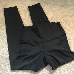 Lululemon Black Ankle Athletic Yoga Leggings